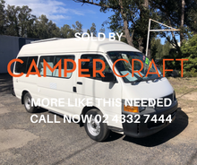 SOLD - 2001 Toyota Hiace Commuter Campervan