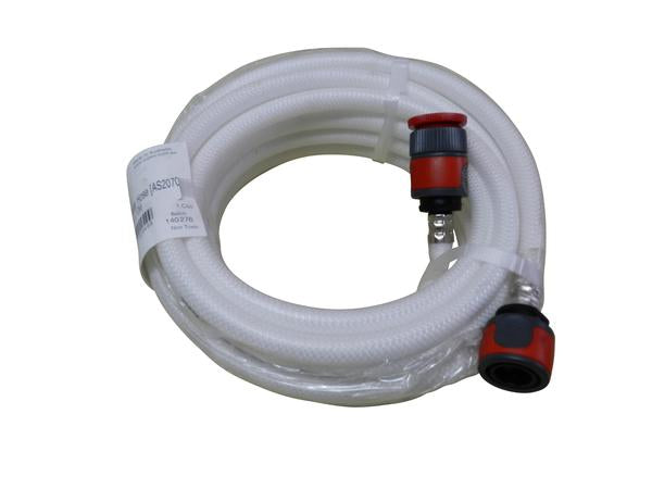 drinking water hose with hose attachments