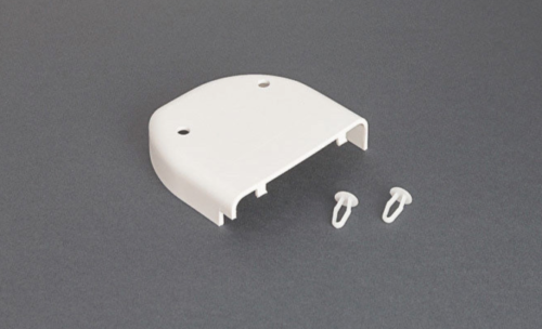 fiamma f45 plus outer end cap white