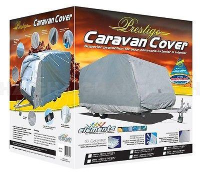 prestige caravan cover box