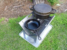slot me in the wedge 600 fire pit & camp cooker 2