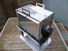 slot me in the wedge 600 fire pit & camp cooker 4