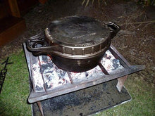 slot me in the wedge 600 fire pit & camp cooker 5