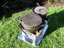 slot me in the wedge 600 fire pit & camp cooker 6