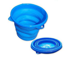 supex collapsible bucket blue 1