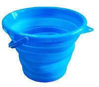 supex collapsible bucket blue