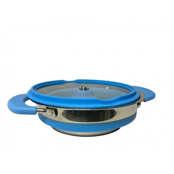 supex collapsible saucepan blue