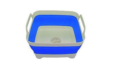 supex collapsible wash tub with sink