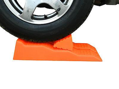 supex single axle wheel levelling ramp