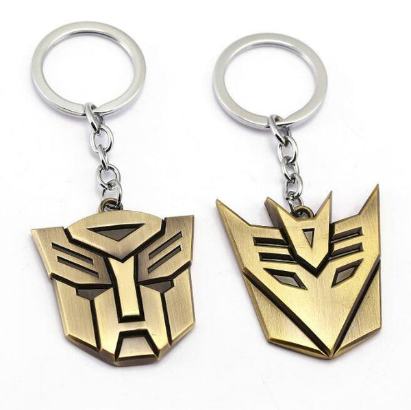 Transformers Key Chain in Bronze Finished Zinc Alloy