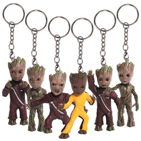 Adorable Guardians of the Galaxy 2 Baby Groot Key Chain