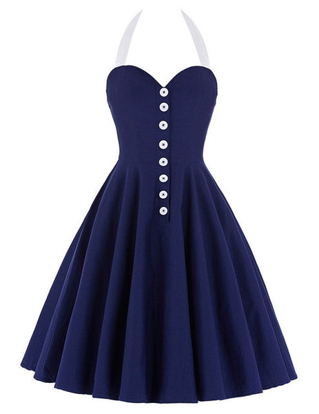 Vintage Party Cocktail Dress