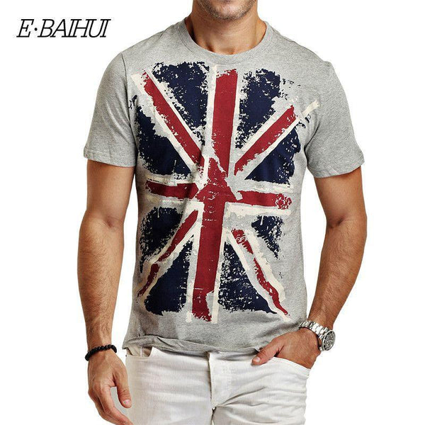 Cotton Blend Short Sleeve Slim Fit T-Shirt