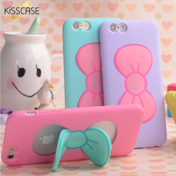 Lovely and Colorful KISSCASE Case For iPhone