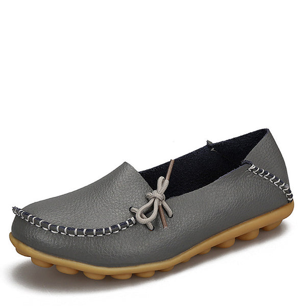 Moccasins Leather Casual Footwear