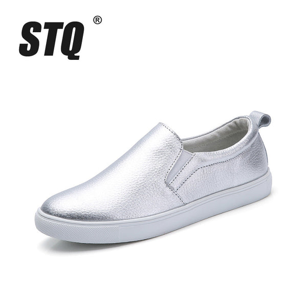 Casual Flat Leather Shoes