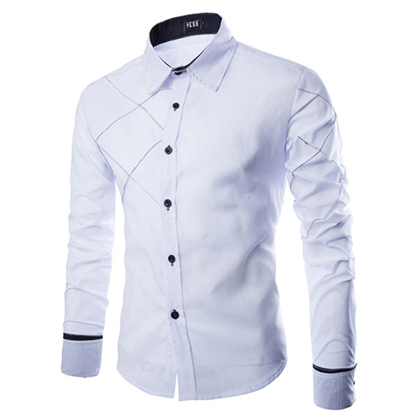 Formal Long Sleeve Cotton Shirt