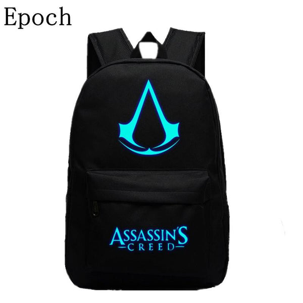 Luminous Assassins Creed Canvas Backpack