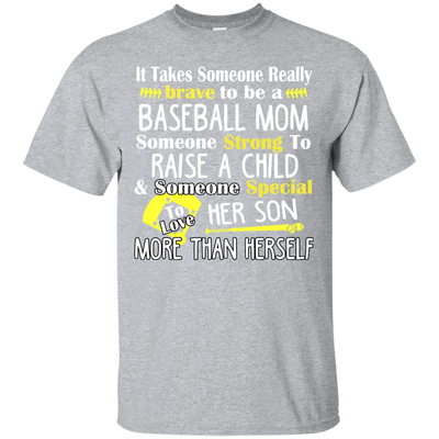 It Takes Someone Really Brave To be a Baseball Mom