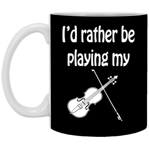 I'd Rather Be Playing My Musically Mug