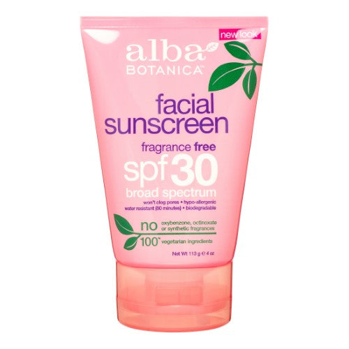 Moisturizer/Sunscreen - Alba Facial Sunscreen