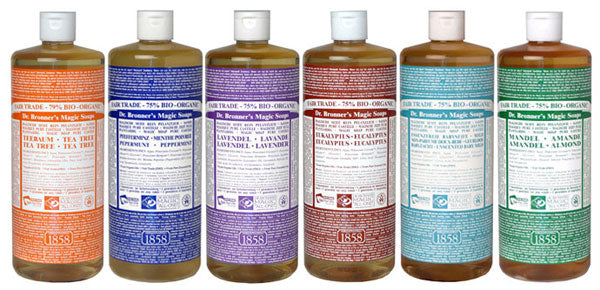 Shower Gel - Dr. Bronner's Soap