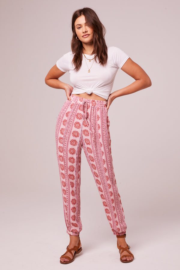 Alice Rose Medallion Jogger Pants Master