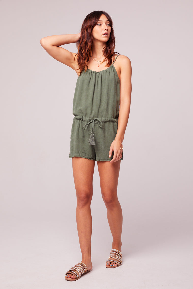 All Play Olive Woven Cami Romper Master3