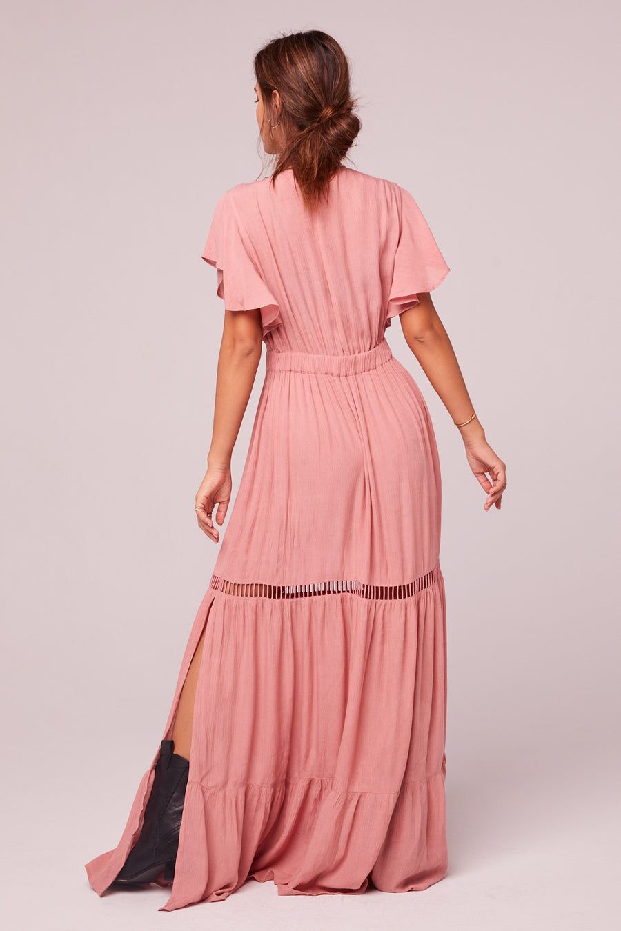 All You Need Is Love Mauve Maxi Dress Master