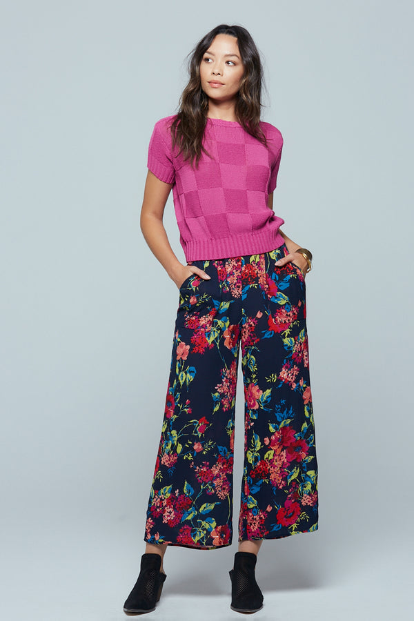 Angel Falls Floral Wide Leg Pants Master
