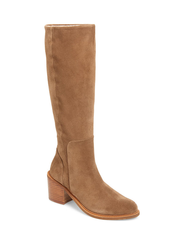 Avon Tan Suede Tall Boot