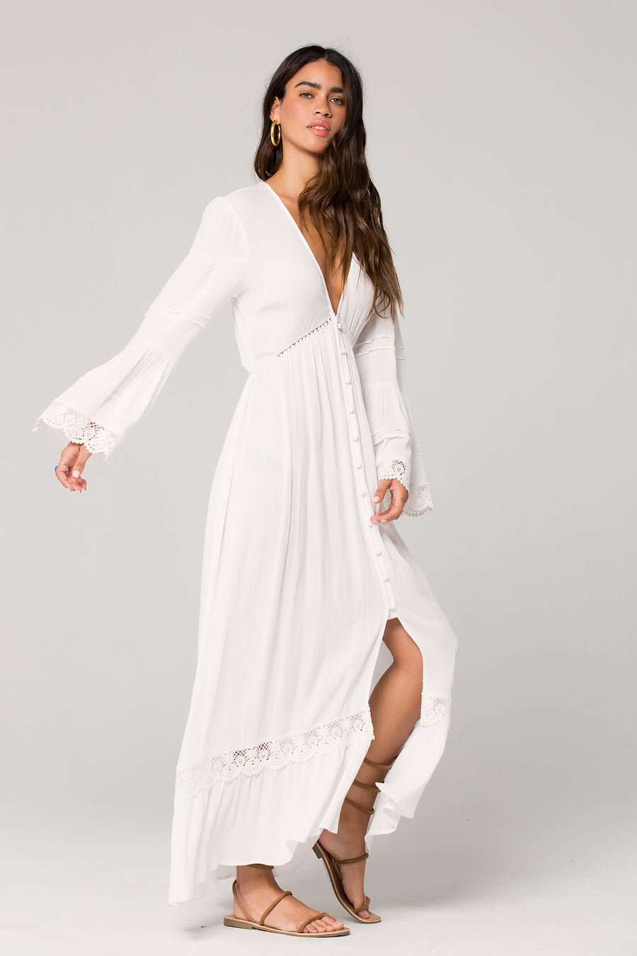 Baja Lace Duster Maxi Dress Master