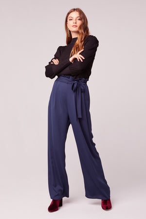 Bienvenue Dark Teal Wide Leg Pant