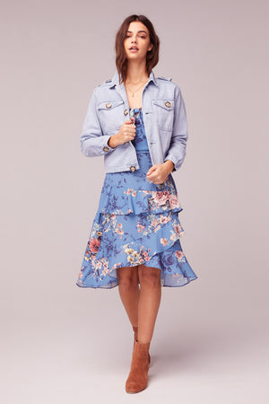 Billie Jean Light Blue Denim Jacket Master2