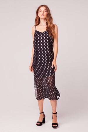 Bonnie Nuit Black Slip Dress