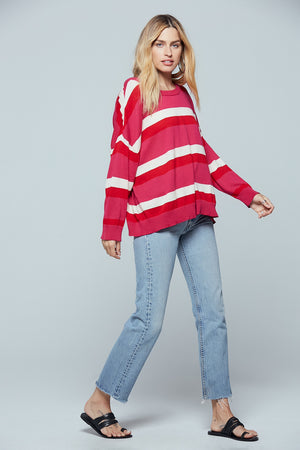 Brentwood Striped Sweater Detail 2