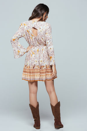 Casablanca Long Sleeve Mini Dress Back 2
