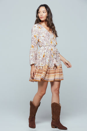 Casablanca Long Sleeve Mini Dress Side