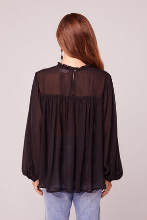 Charmante Edwardian Long Sleeve Blouse Back 2