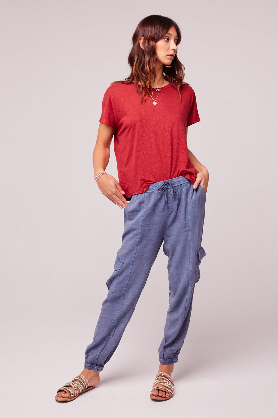 Chill Out Denim Blue Cargo Pant master