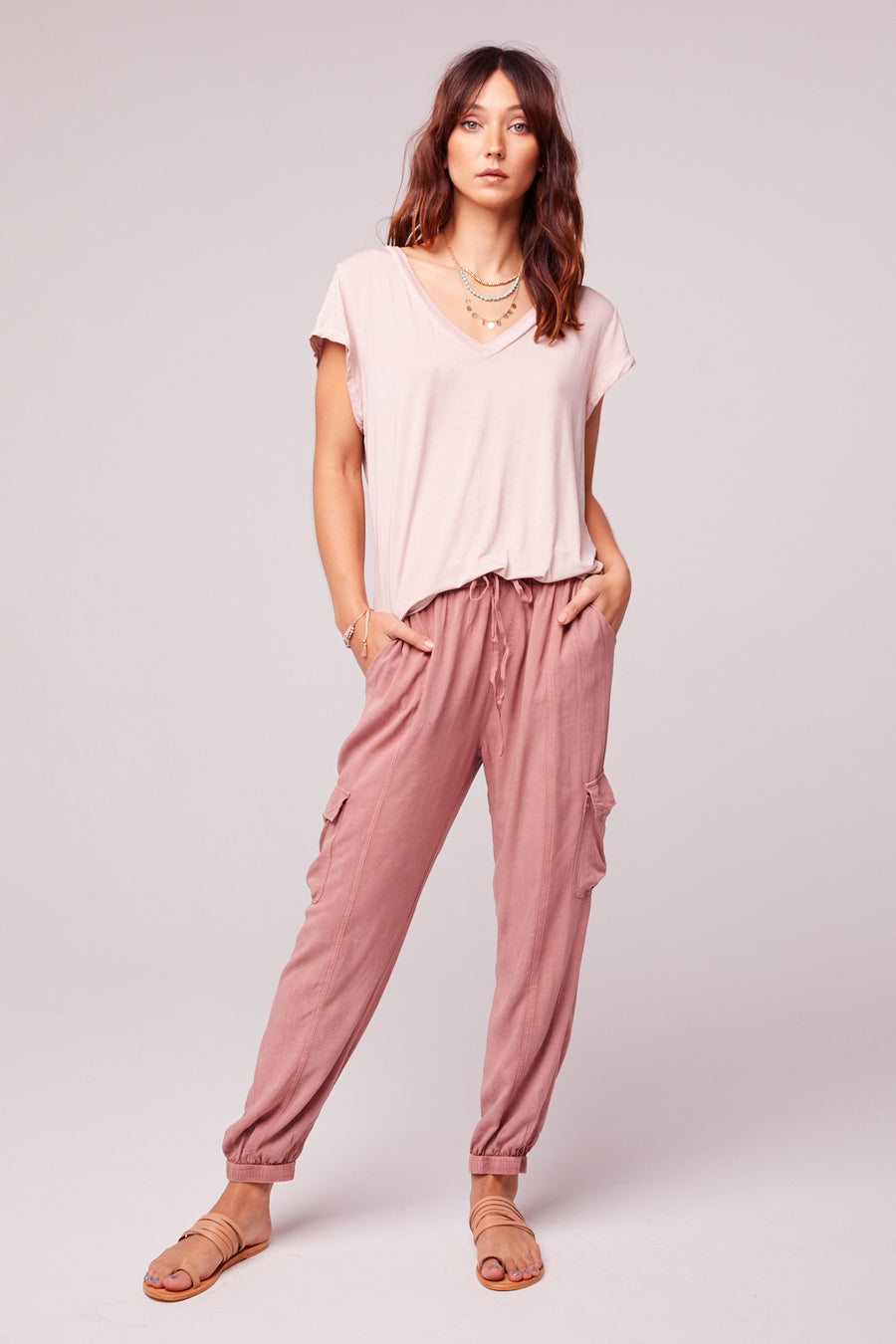 Chill Out Mauve Cargo Pant master