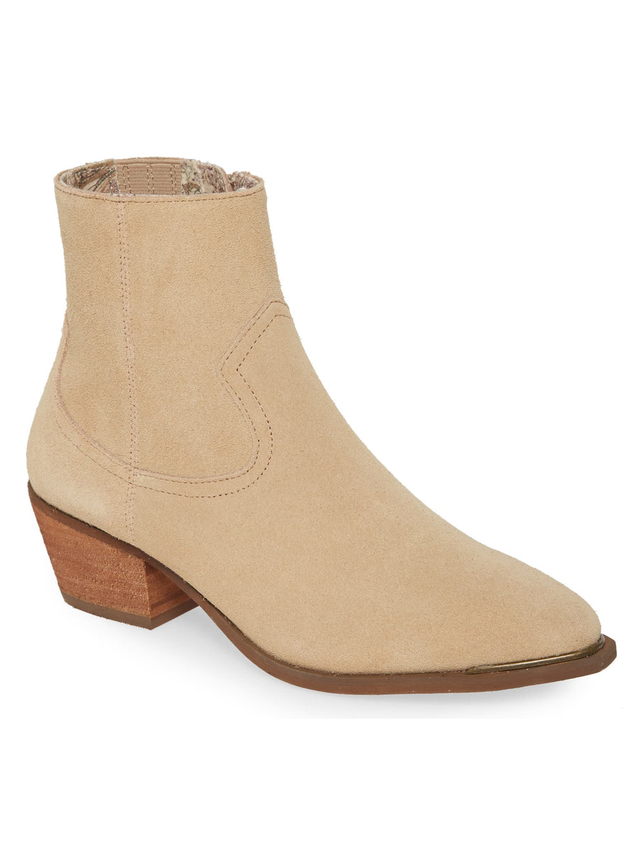 Creed Natural Suede Booties Master
