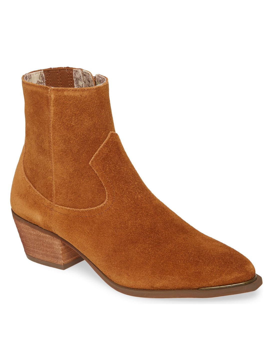 Creed Rust Suede Booties Master