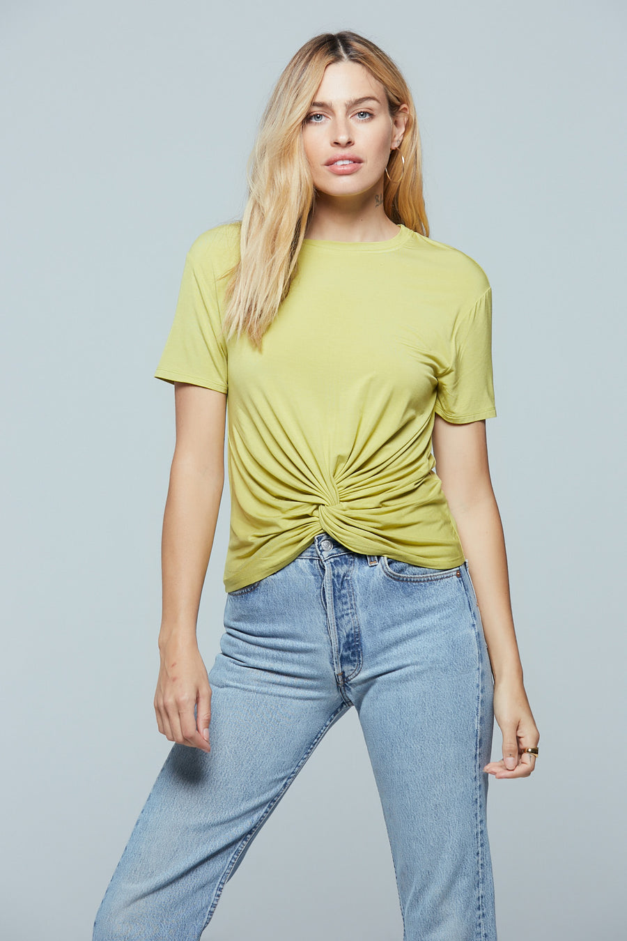 Denali Twist Front Lime Tee Master 2