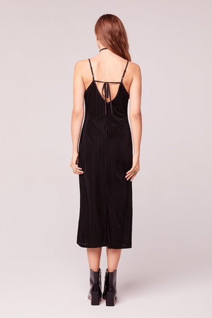 Dix Velvet Slip Dress Back