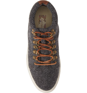 Dove Felt Wool Grey High Top Sneaker