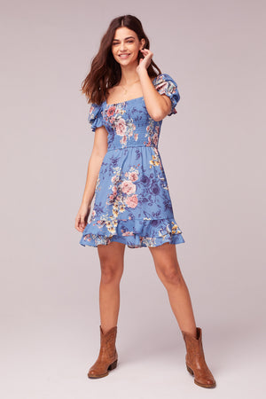 Dream Floral Print Mini Dress Master