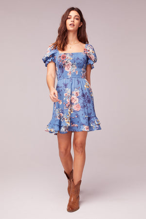 Dream Floral Print Mini Dress master2