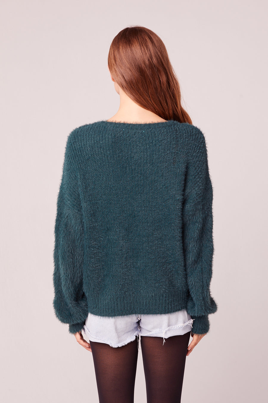 Enchante Pine Crew Neck Sweater