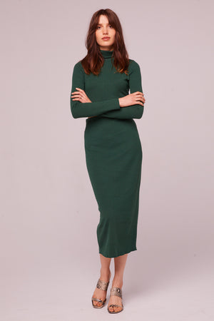 Fairfax Ribbed Pencil Skirt Front